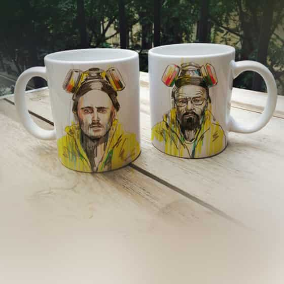 tazas personalizadas de breaking bad